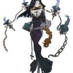 [ID: bqc017z97eom] Costume art event - Dark priestess Erato