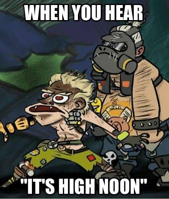 "Overwatch: Memes - When u hear ""it's high noon"" image 1"