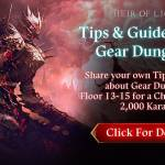 [Event] Share Your Tips & Guides Event #5: Gear Dungeon (4/28 ~ 5/6 CST)