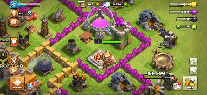 Clash of Clans: Base Building - Finally got my king 🤴  image 2