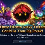 [Event] Urchin Lucky Tickets! (4/28 ~ 5/25 CDT)