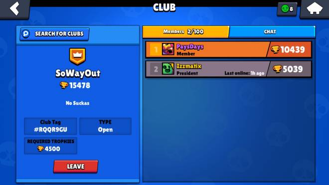 Brawl Stars: Club Recruiting - CLUB RECRUITING!!!! JOIN US ACTIVE PLAYERS ONLY 💯 WE ON THAT GRIND FOH #1  image 1
