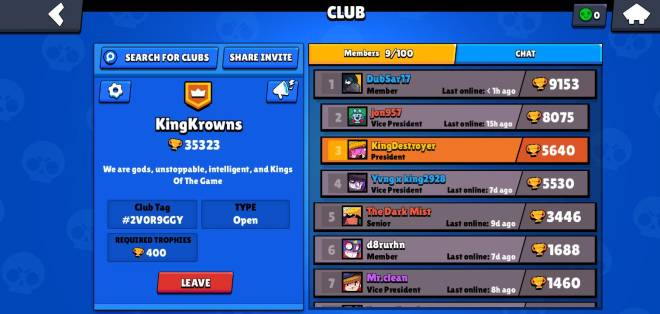 Brawl Stars: Club Recruiting - Everybody here's a picture of my clan join and we can play together image 1