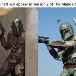Mando vs Boba fett!!!!