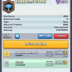 new clan must have 1000 trophies or more