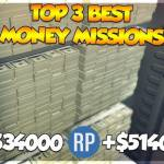 GTA 5 Online - TOP 3 EASIEST SOLO MISSIONS TO MAKE MONEY IN GTA ONLINE (Best Missions To Make Money)