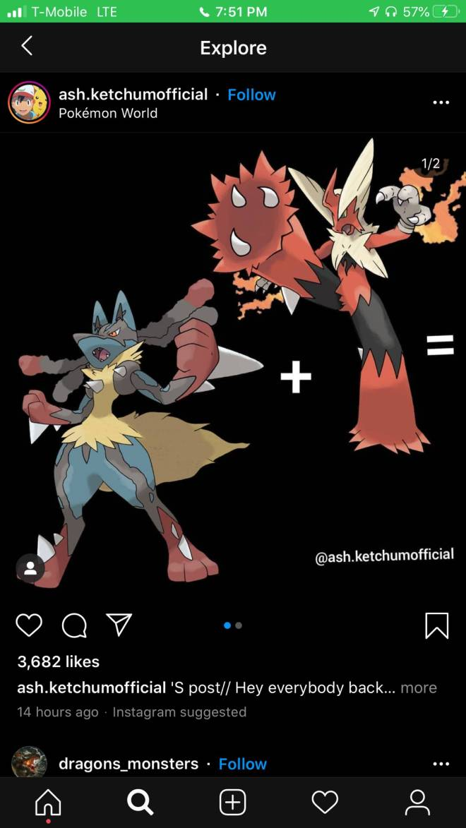 Pokemon: General - That would be an awesome fusion  image 1