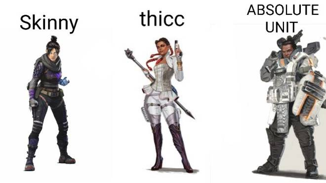 Apex Legends: Memes - Gibby reigns as King of Thicc image 1