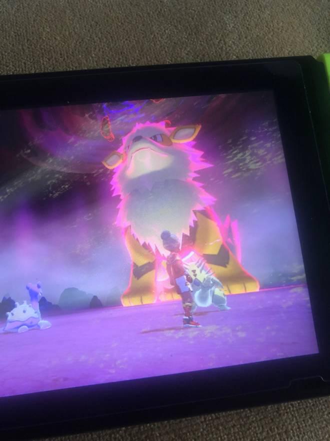 Pokemon: General - Look at found in a random raid den image 2