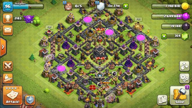 Clash of Clans: General - Join my clan #ClickBate even tho the rules are in Spanish we speak more English lmao image 2