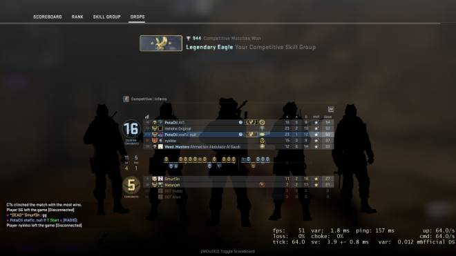 CSGO: General - I hate when my noob friends get on top of the leaderboard image 2
