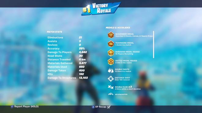 Fortnite: General - I got my first 20 bomb in squads #victoryroyale image 1