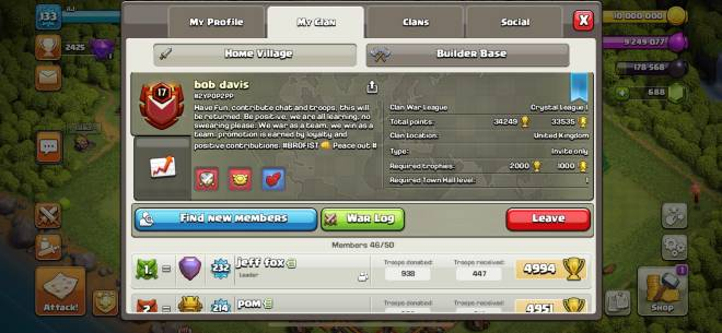 Clash of Clans: General - DM if you're TH10 and above and want to join and send base pics image 1