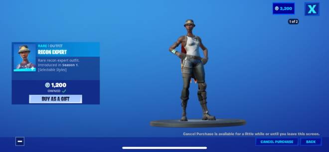 Fortnite: General - Uhh .. I just had to buy the Recon ahh!! 🥺 image 1