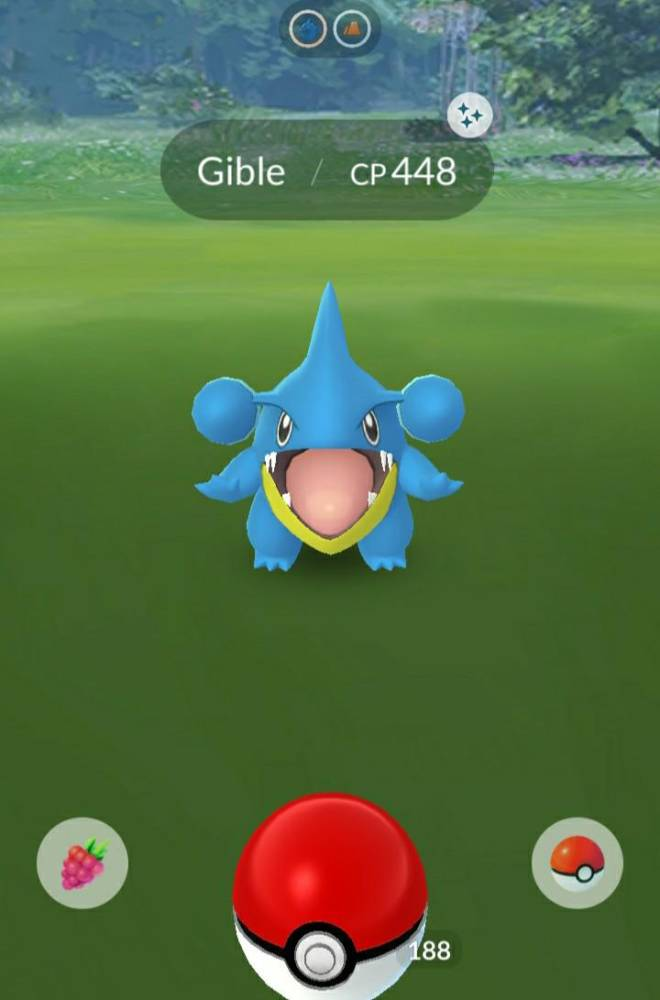 Pokemon: General - FIRST GIBLE AND ITS SHINY!!! image 3