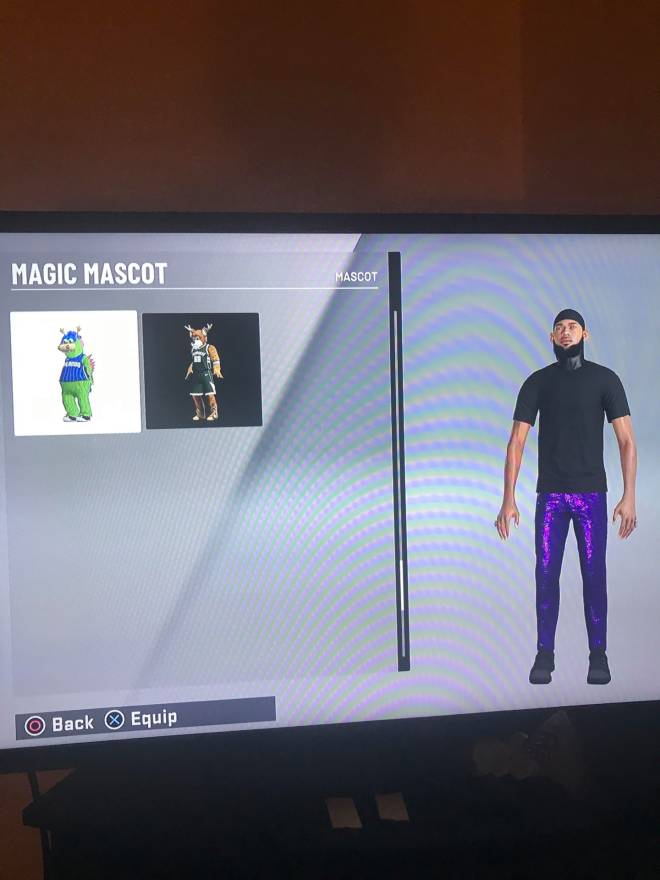 NBA 2K: General - Mascot, Formula Glitch  image 4