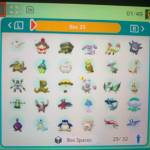 Shinies for trade...😅😅