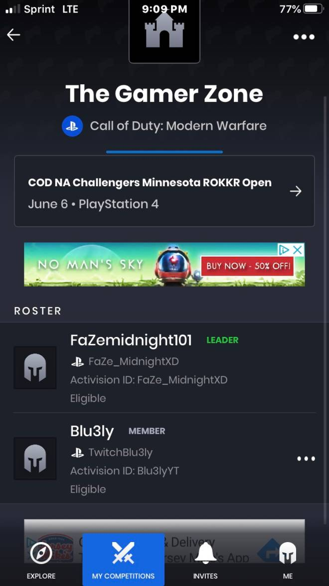 Call of Duty: Looking for Group - NEED ONE MORE PLAYER FOR THIS TOURNAMENT GOTTA BE 14 & UP AND CAN'T GIVE UP NOR LEAVE MID WAY SO TE image 3