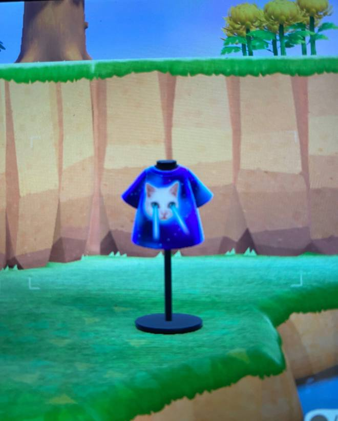 Animal Crossing: Posts - THEY ADDED A MEME SHIRT image 2