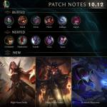 10.12 Patch Notes