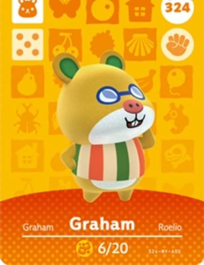 Animal Crossing: Posts - Selling graham dm offers image 1
