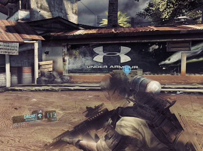 Ghost Recon: General - Found this Under Armour sign while playing FS image 1