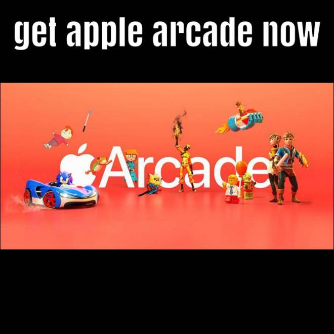 Apple Arcade: General - Get Apple Arcade now for free image 1