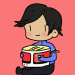 [ID: c1dvoutg302r]  Pantheon with a bowl of ramen!
