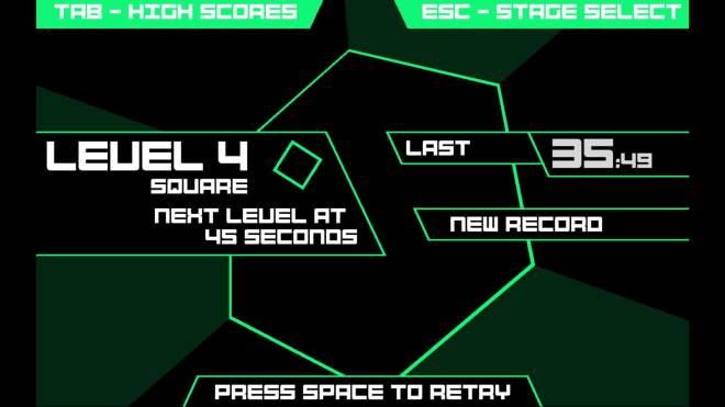 Indie Games: General - First Impressions: Super Hexagon image 8