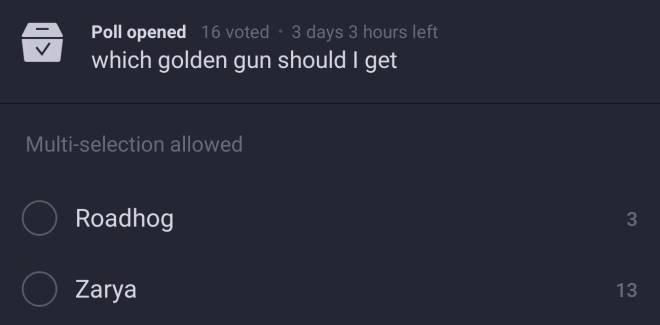 Overwatch: General - Got the Zarya golden gun image 2