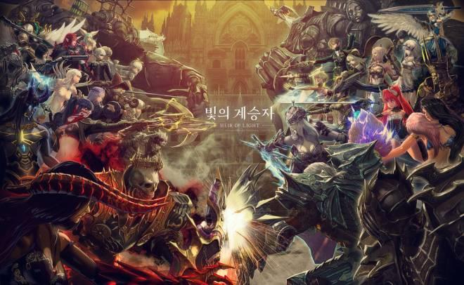 HEIR OF LIGHT: HoL Illustration - Guild Battle Update image 1