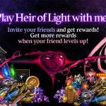 [Event] Play Heir of Light with me! Event (7/1 ~ 9/30 CDT)