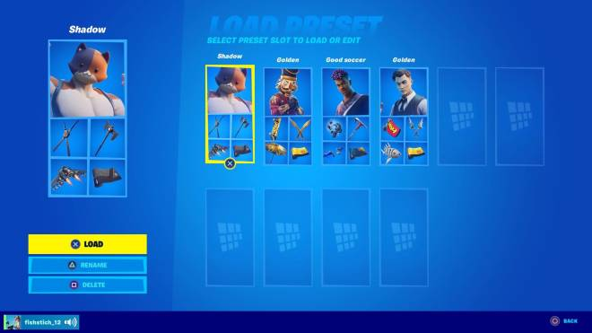 Fortnite: Battle Royale - How are my preset image 2