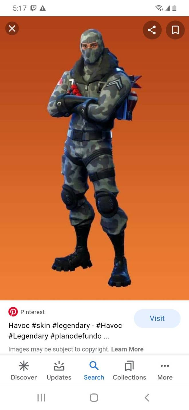 Fortnite: Looking for Group - Anyone has the havoc skin ?  image 3