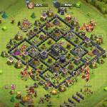 I am a slightly rushed th9 looking for a active clan that does wars