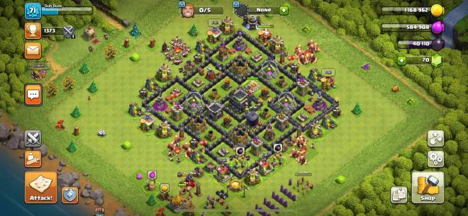 Clash of Clans: General - I am a slightly rushed th9 looking for a active clan that does wars image 1