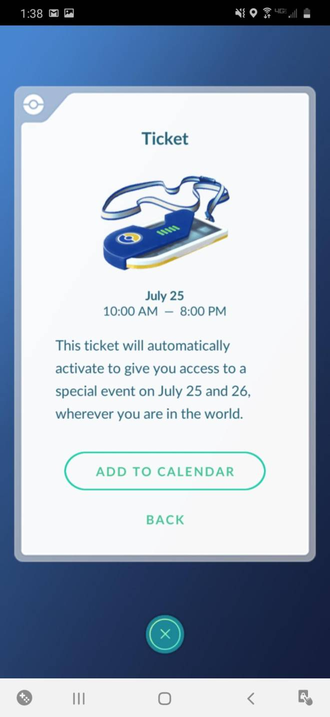 Pokemon: General - Anyone else hyped for Go Fest? image 1