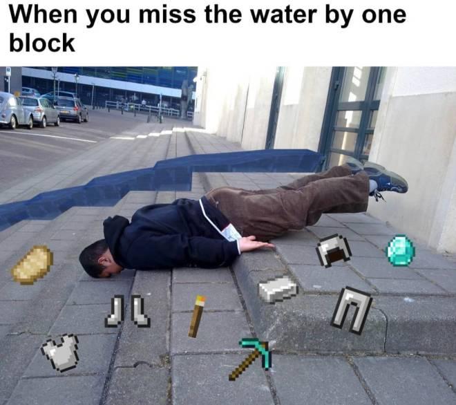 Minecraft: Memes - F 😔 image 1
