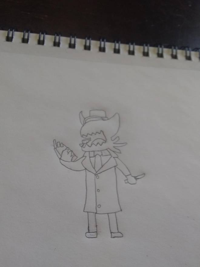 Entertainment: Art - Conductor drawing image 2