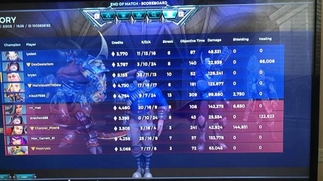 Paladins: General - Carried? image 1