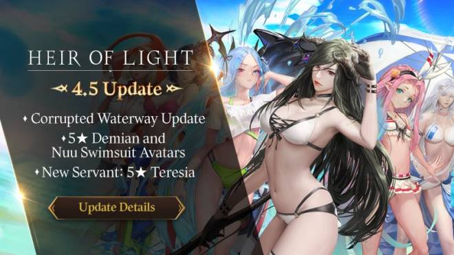 HEIR OF LIGHT: Update Preview & Patch Notes - [Notice] 4.5 Update Patch Notes image 1