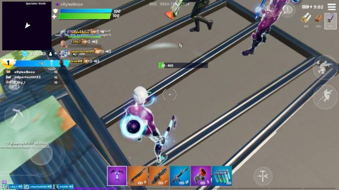 Fortnite: Battle Royale - A  friend of mine can make floors Invisible image 3