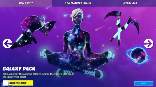 Fortnite: Battle Royale - Who got the Galaxy scout pack? image 1