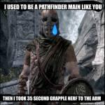 I used to be pathfinder main like you