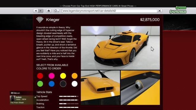 GTA: General - Which Car Should I Get? image 2