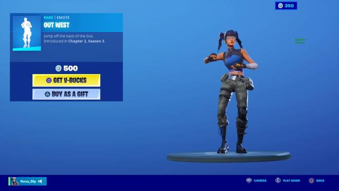 Fortnite: General - When your 200vbucks off from buoying out west !! 😭😎💖 image 1