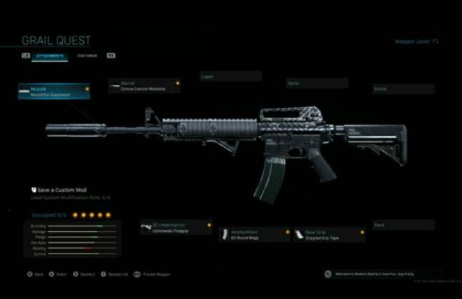 Call of Duty: Event - My loadout and why I use it (M4A1)  image 2