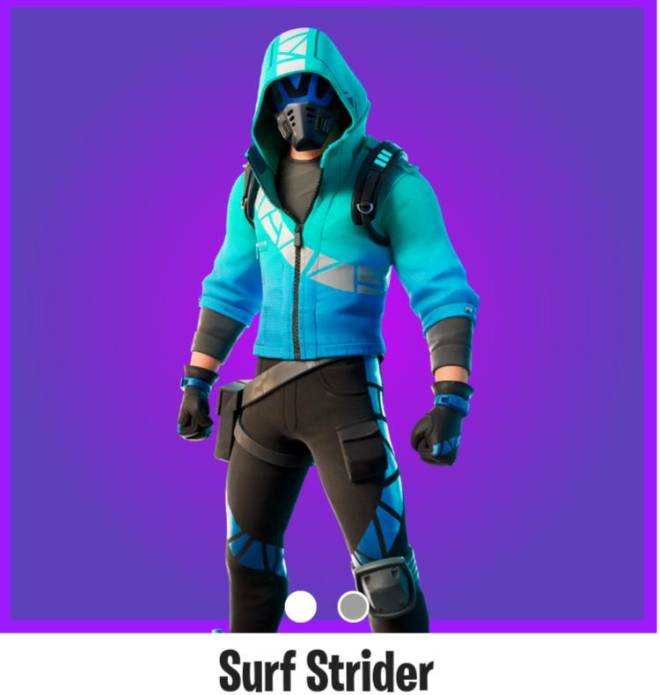 Q&A: Question - Which skin goes with the surf strider skin  image 1