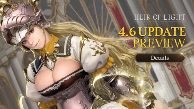 HEIR OF LIGHT: Update Preview & Patch Notes - [Notice] 4.6 Update Preview image 1