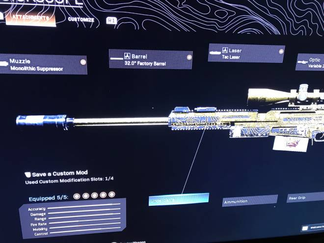 Call of Duty: Event - Scar because nice damage and no recoil. Ax50 because im used to it image 3